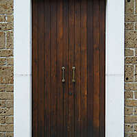 door old and clean