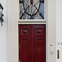 neoclassical wood door 12