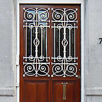 neoclassical wood door 13