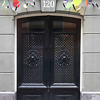 neoclassical wood door 22