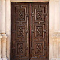 neoclassical wood door 3