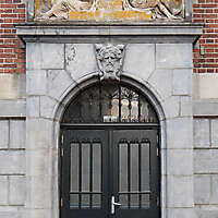 neoclassical wood door 5
