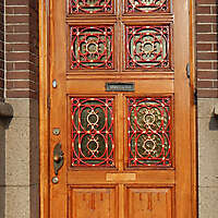 neoclassical wood door 6
