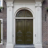 neoclassical wood door 7