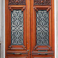 neoclassical wood door 9
