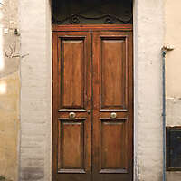 old clean decorated wood door 24