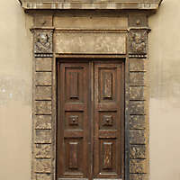 medieval old wood door 9