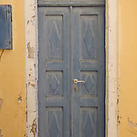 old clean decorated wood door 17