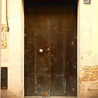 old clean decorated wood door 25