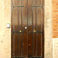 old clean decorated wood door 27