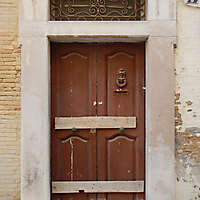 old clean decorated wood door 28
