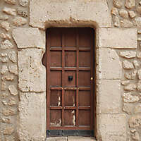 old door brown 2