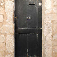 very ruined wood door 7