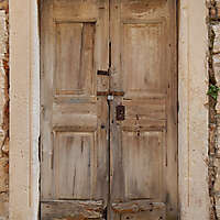 dried wood old door 11