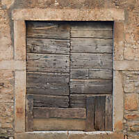 fixed old medieval door 4