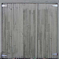 old planks garage door 2