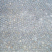 vatican pavement tiles