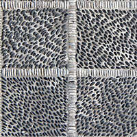 black and white pebbles greek mosaic seamless 1