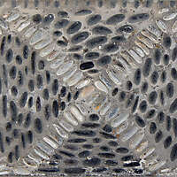 black and white pebbles greek mosaic seamless 2