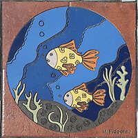 fish mosaic 8