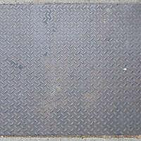 manhole rusty tread plate 2