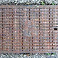 manhole rusty water