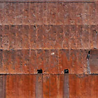 destroyed rusty surface big scale