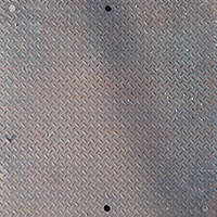 diamond plate metal panel