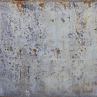 rusty and dirt metal panel
