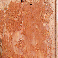 heavy rust panel