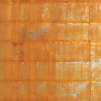 rusty iron panels