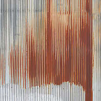 undulating rusty iron panel 5