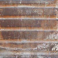 very rusty metal paint box 3