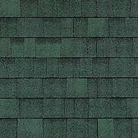 roof bitumen shingles green