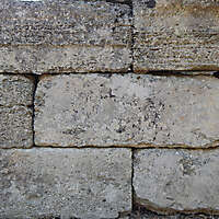 medieval rough stone blocks from athen 4