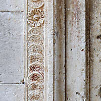 decorated stone panel 4