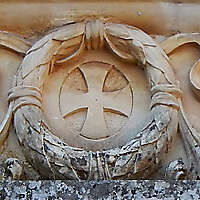 european stone ornament 67