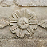 flower stone ornament 21