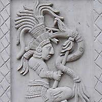 maya ornament plate 2