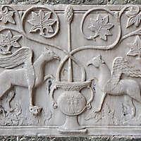 medieval stone ornament venice 10