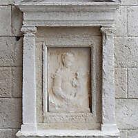 medieval stone ornament venice 15