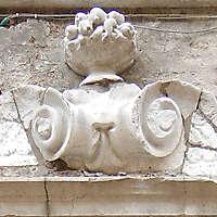 medieval stone ornament venice 2