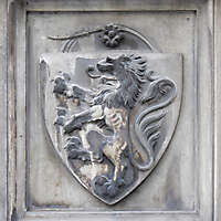 old stone emblem from florence 12