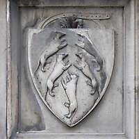 old stone emblem from florence 16