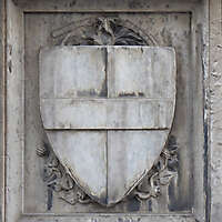 old stone emblem from florence 19