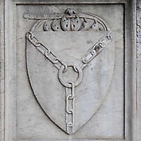 old stone emblem from florence 20