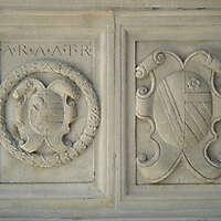 stone plate decoration ara