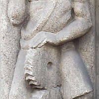 stone statue worker 58