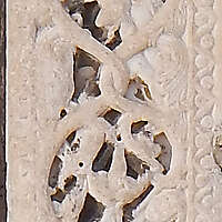 vertical stone ornament 34