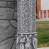 decorated pillar 5